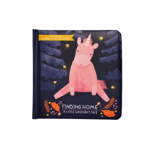 Manhattan Toy Finding Home - A Little Unicorn's Tale Board Book, Ages 6 Months and up Perspective: front