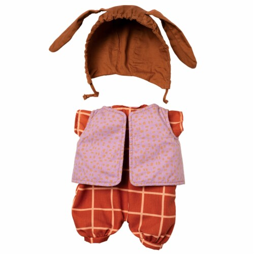 """Manhattan Toy Baby Stella Romp & Jump Baby Doll Clothes for 15"""" Soft Baby Dolls Perspective: front"""