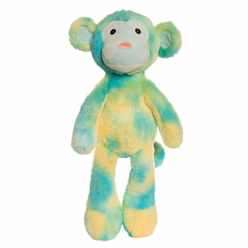 """Manhattan Toy Sorbets Key Lime 15"""" Monkey Stuffed Animal Perspective: front"""