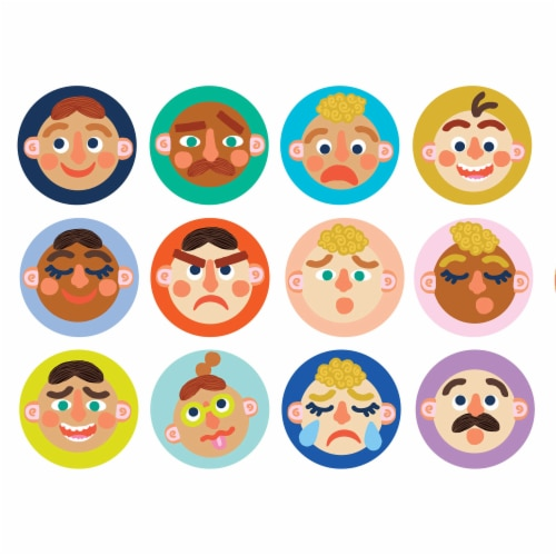 Manhattan Toy Making Faces Memory and Facial Recognition Matching Game for Toddlers Perspective: front