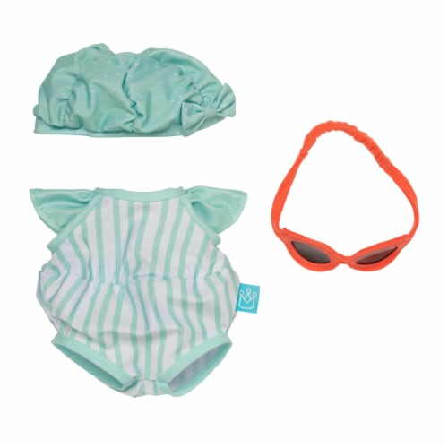 """Manhattan Toy Baby Stella Pool Party Baby Doll Clothes for 15"""" Dolls Perspective: front"""