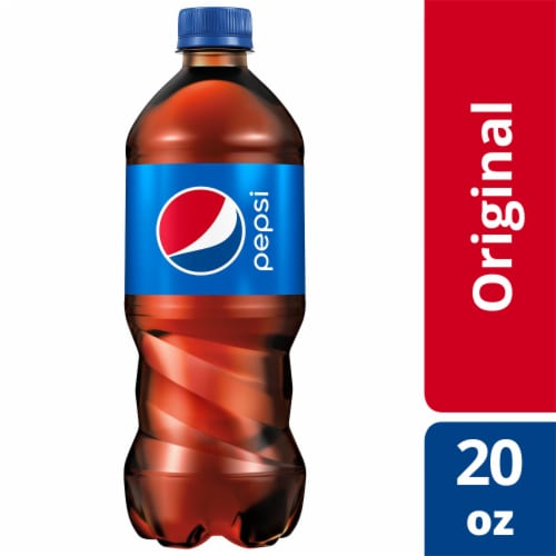 Pepsi Cola Soda Perspective: front