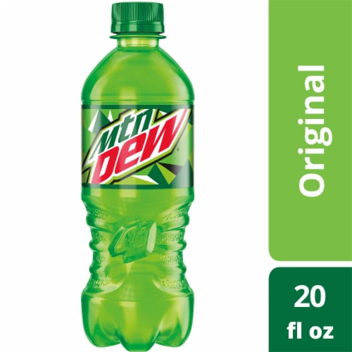Mountain Dew Citrus Soda Perspective: front
