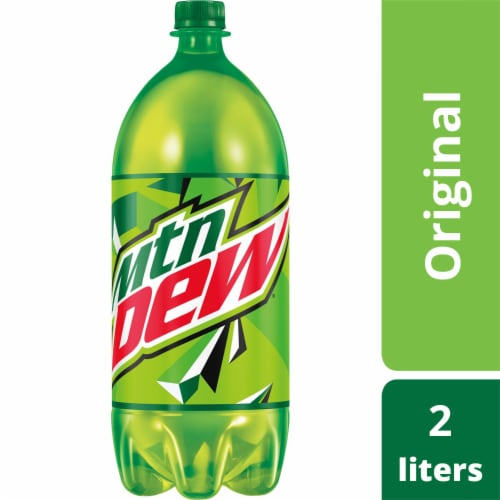 Mountain Dew Soda Perspective: front