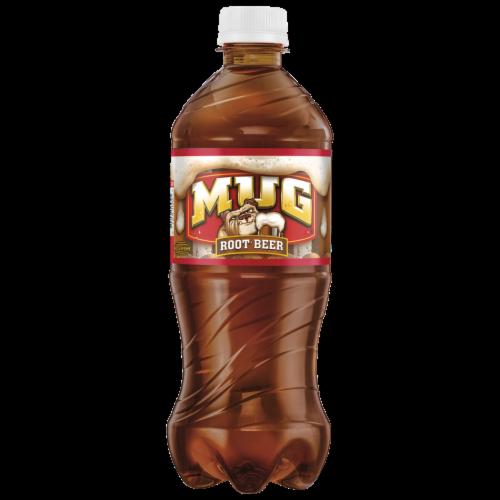 Mug Root Beer Soda Perspective: front