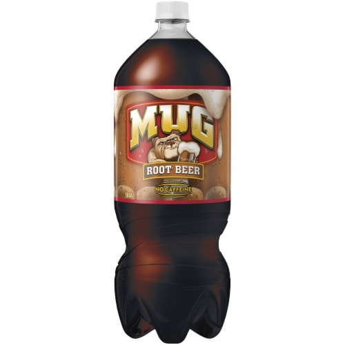Mug Root Beer Caffeine Free Soda Perspective: front