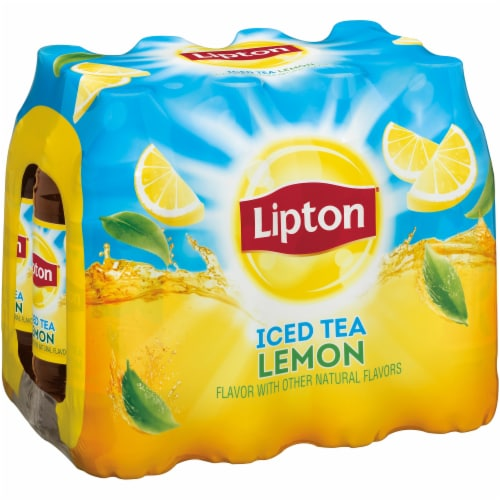 Lipton Lemon Iced Tea Perspective: front