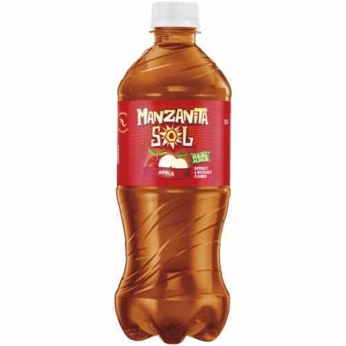 Pepsi Manzanita Sol Apple Flavored Soda Perspective: front