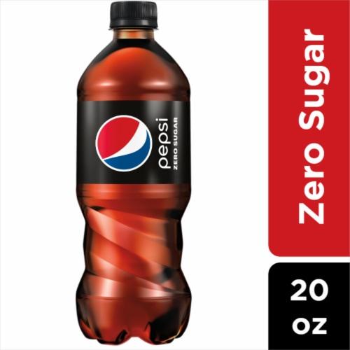 Pepsi Cola Zero Sugar Soda Perspective: front
