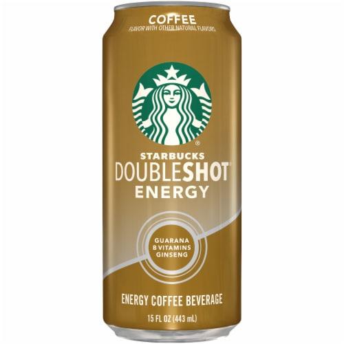 Starbucks DoubleShot Energy Coffee Beverage Perspective: front