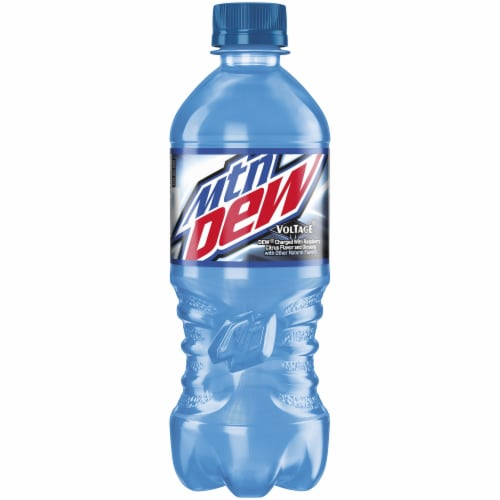 Mountain Dew Voltage Soda Perspective: front