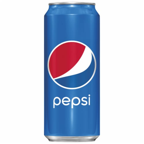 Pepsi Cola Soda Perspective: front