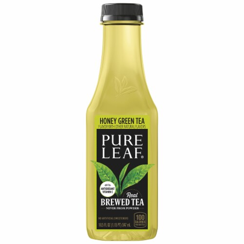 Pure Leaf Honey Green Tea Perspective: front