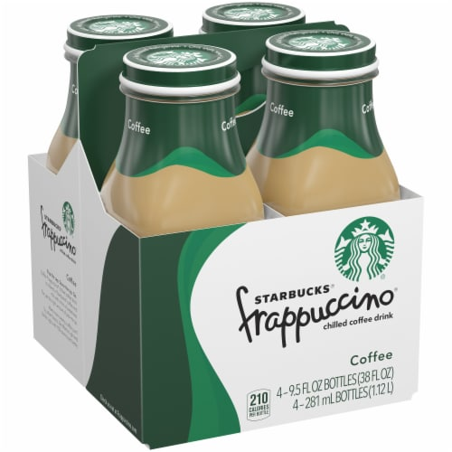 Starbucks Frappuccino Iced Coffee Drink Perspective: front
