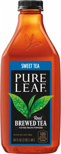 Pure Leaf Sweet Tea Brewed Iced Tea Perspective: front