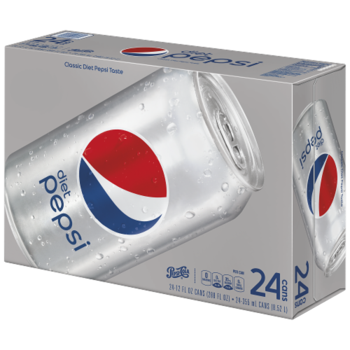 Diet Pepsi Cola (24 Pack) Perspective: front