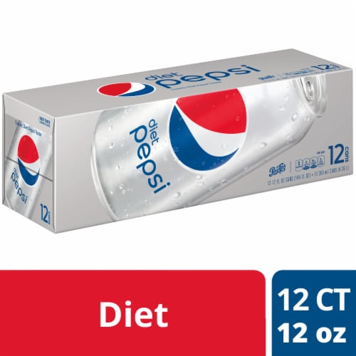 Diet Pepsi Cola Soda Perspective: front