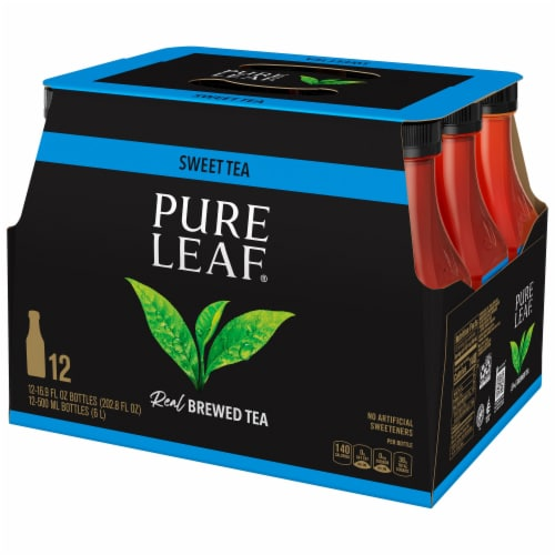 Pure Leaf Real Brewed Sweet Tea Perspective: front