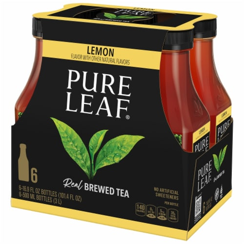 Pure Leaf Sweetened with Lemon Brewed Iced Tea Perspective: front