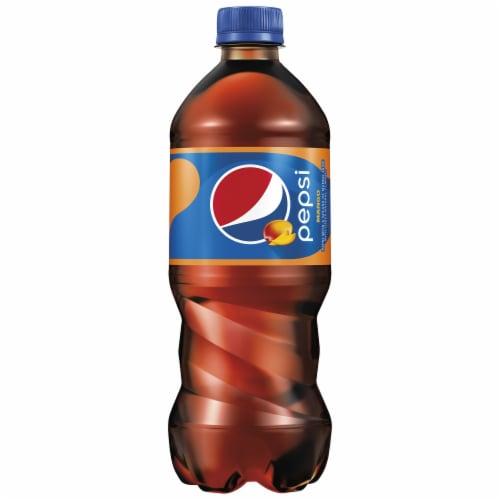 Pepsi Mango Soda Perspective: front