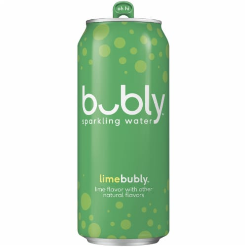 bubly Lime Sparkling Water Perspective: front