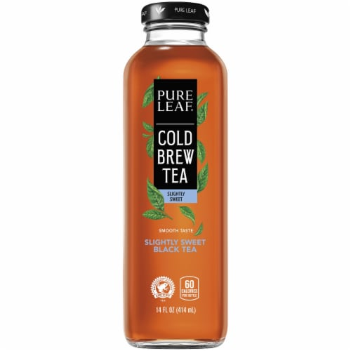 Pure Leaf Cold Brew Iced Tea Lightly Sweet Black Tea Perspective: front