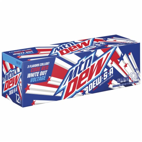 Mountain Dew Dew-S-A Soda Perspective: front