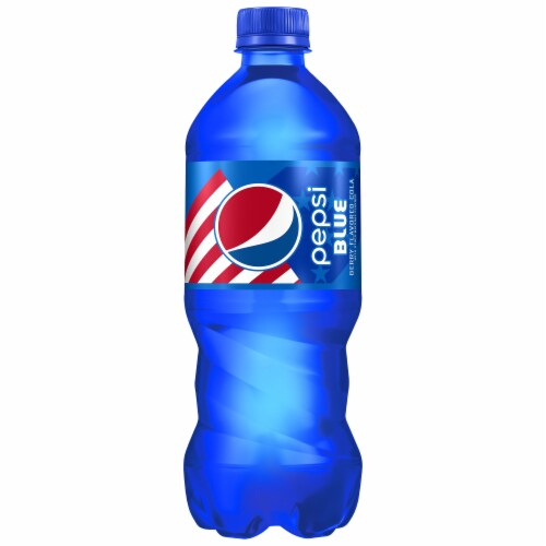 Pepsi Blue Berry Flavored Cola Perspective: front