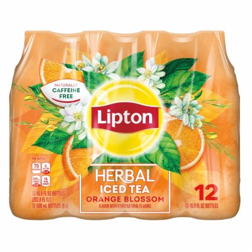 Lipton Orange Blossom Herbal Iced Tea Perspective: front