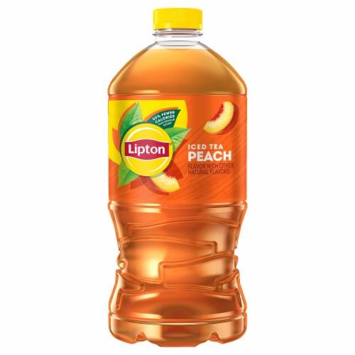 Lipton Peach Iced Tea Perspective: front