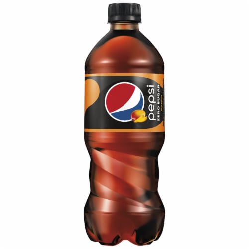 Pepsi Zero Sugar Mango Cola Perspective: front