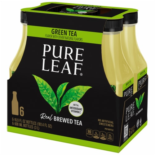 Pure Leaf® Real Brewed Green Tea Perspective: front