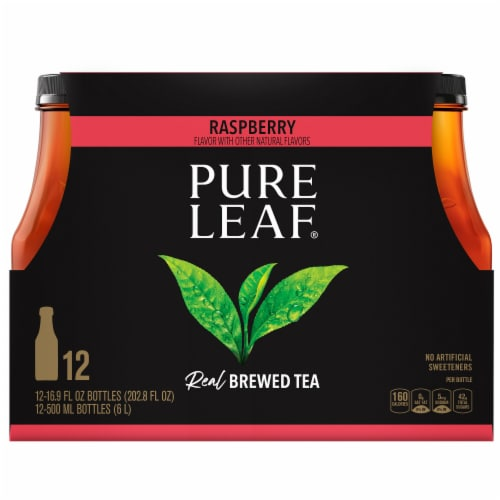 Pure Leaf Iced Tea - Raspberry Perspective: front