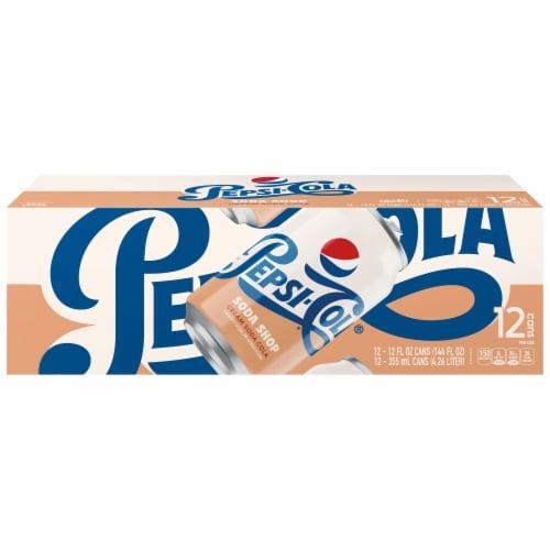 Pepsi-Cola® Soda Shop Cream Soda Perspective: front