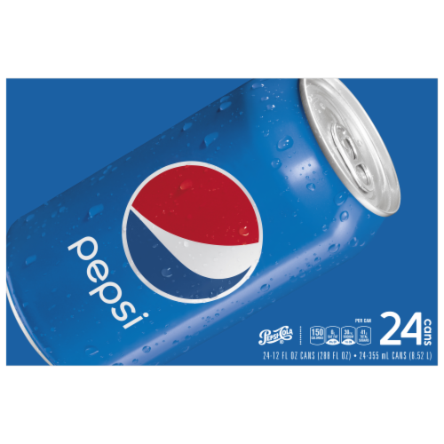 Pepsi Cola Soft Drink Perspective: front
