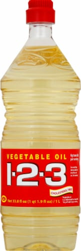 1-2-3 Sunflower Oil Perspective: front