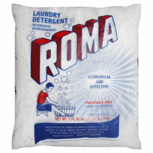 Roma Powder Laundry Detergent Perspective: front