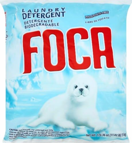 Foca Powder Phosphate Free Laundry Detergent Perspective: front
