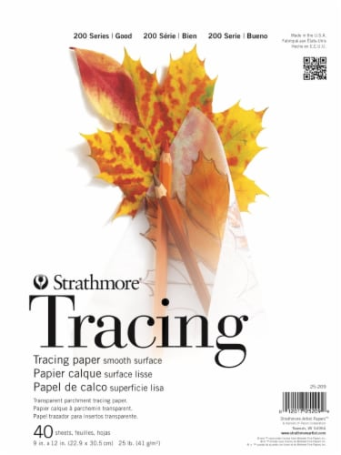 Strathmore 200 Series 25 Pound Tracing Paper - Transparent Perspective: front