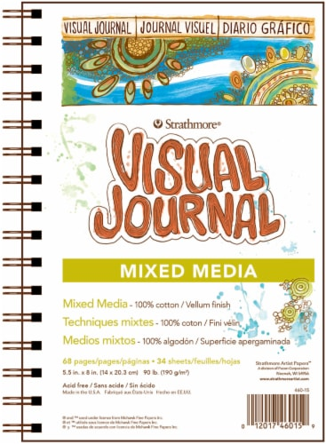 Strathmore Mixed Media Visual Journal Perspective: front