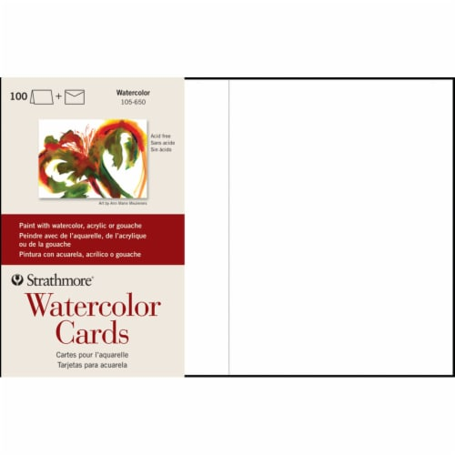 Strathmore Watercolor Cards - 100 Sheets Perspective: front
