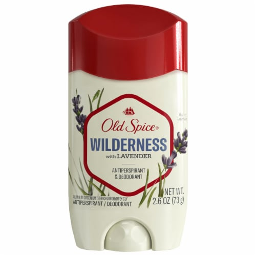 Old Spice Mens Deodorant Antiperspirant Invisible Solid - Wilderness With Lavender Perspective: front