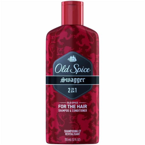 Old Spice Swagger 2in1 Shampoo and Conditioner for Men Perspective: front
