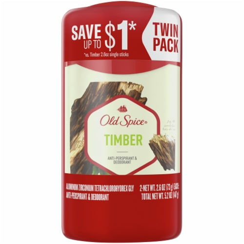 Old Spice Fresh Collection Timber with Sandalwood Anti-Perspirant & Deodorant Perspective: front