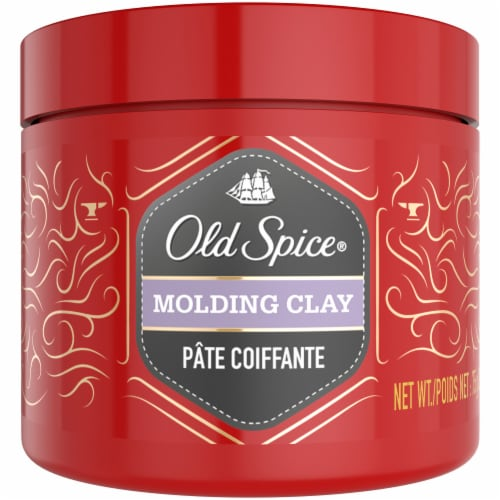 Old Spice Molding Clay Perspective: front