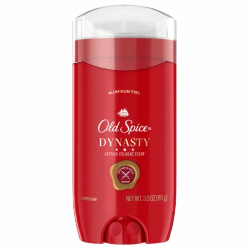 Old Spice Dynasty Aluminum Free Deodorant Perspective: front