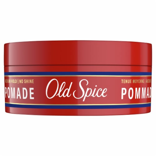 Old Spice Medium Shine Hair Styling Pomade Perspective: front