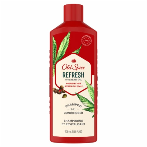 Old Spice Refresh 2-in-1 Shampoo & Conditioner Perspective: front