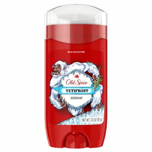 Old Spice Men Wild Collection Yetifrost Deodorant Perspective: front