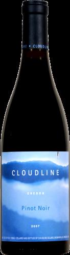 Cloudline Pinot Noir Perspective: front